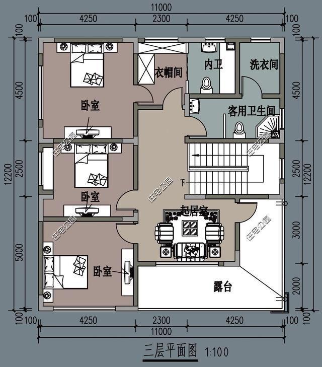 农村别墅有什么可以免费领红包新趋势,餐厅厨房要朝南,10米11米12米面宽户型3套
