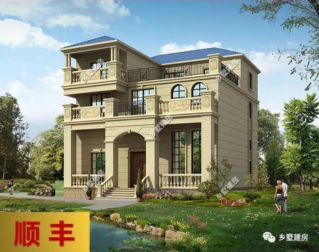 乡墅建房(图片右下角)五百套农村自建房别墅设计施工图纸任你选!图片