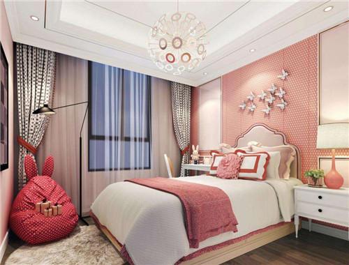 甜美的卧室设计是女孩的最爱,空间虽小,通过精心的设计之后,它同样图片