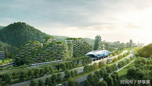 """""""垂直森林""""密集登陆中国 城市绿色生态""""上天""""了"""