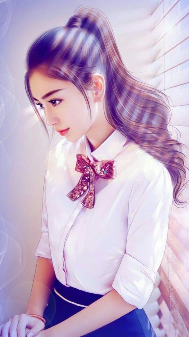 最美10女星手绘照,谢娜上榜,赵丽颖第八,第一美得令人