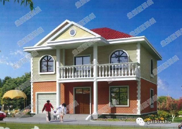4款造价30万以内二层新农村自建房设计图