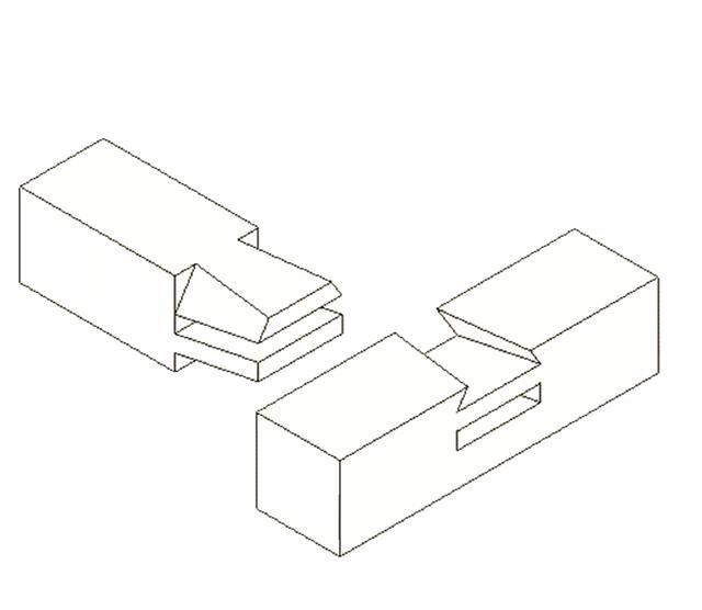 木工学习手绘设计