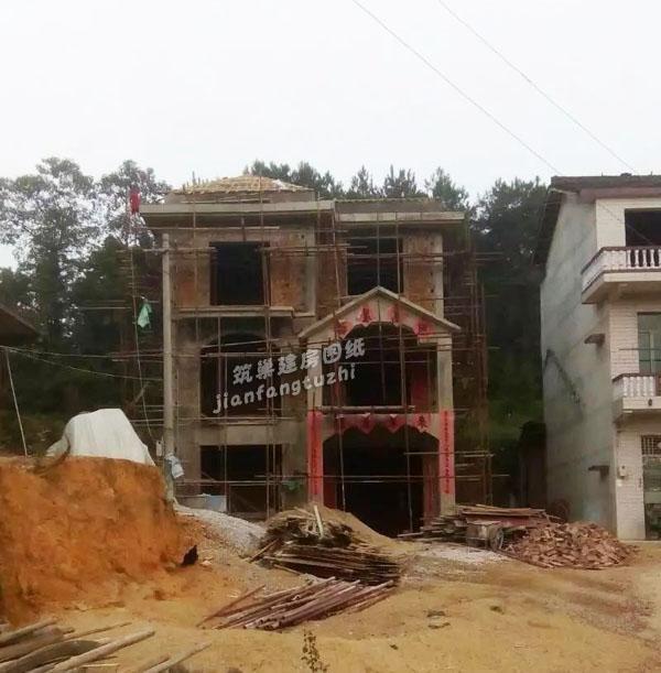 建房实拍:70平方米三层小户型农村自建房8x9米(附全套设计图)图片