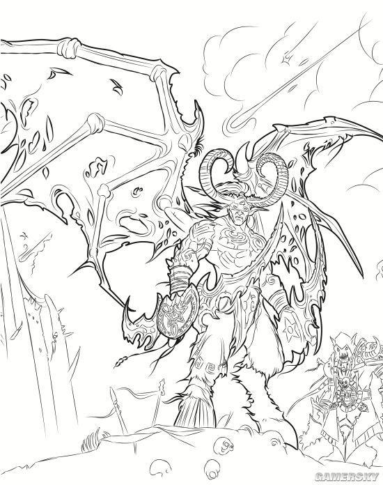 《魔兽世界:手绘涂色书》重磅来袭!暴雪官方唯一指定中文版震撼上市!