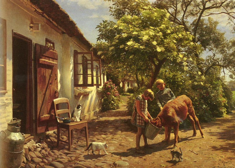 丹麦画家的浪漫主义风景油画,太美了!