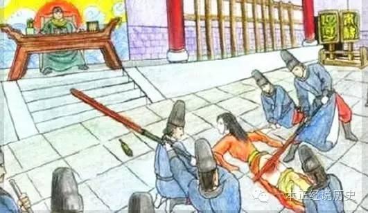 这种刑罚宋朝开始兴盛,到了明朝仍然保有,特别是犯了通奸罪责的女犯