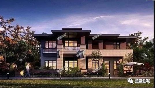 谁说青砖灰瓦才叫中式,看这15款新中式别墅,才叫赞!