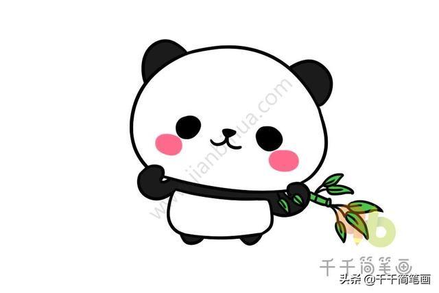 可爱的小动物简笔画,简单易学,假期闲暇的时候可以陪宝宝一起画~ 赶