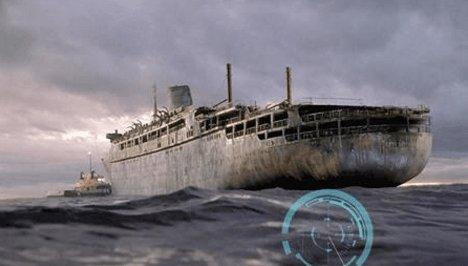 漂流38年的贝奇摩号幽灵船