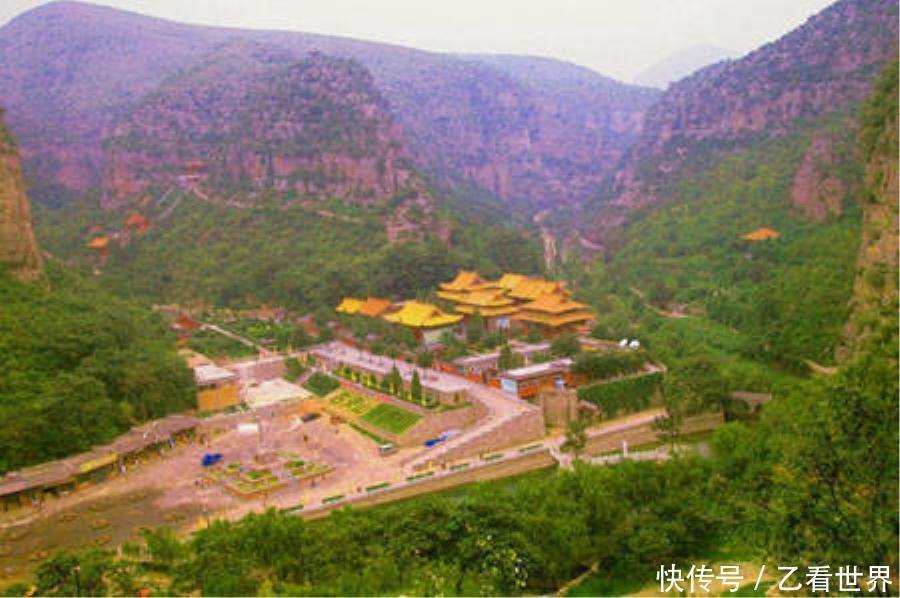 云梦山: 古灵山风景区