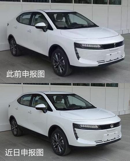 原1月16日申报图中的长城汽车旗下纯电动跨界suv欧拉iq5,在近日最新的