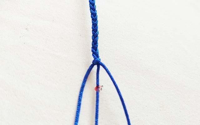 一根线的编织图解