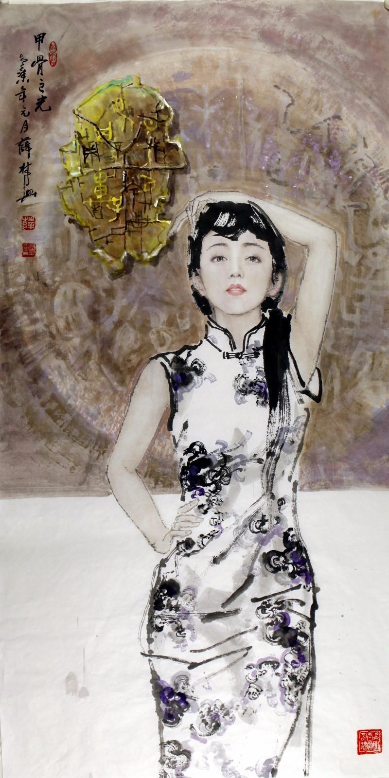 薛人体_我觉得今天能够从薛林兴的人体绘画作品里面看到的美,在学院打下的