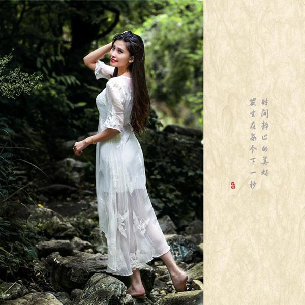 设计师刘嘉亲子发布现场少儿模特指导老师;中国时装周孙海涛家庭装