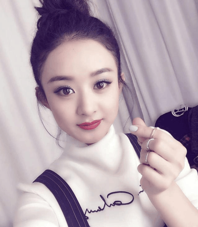 一线女明星谁最美,迪丽热巴,杨颖,杨幂和赵丽颖大