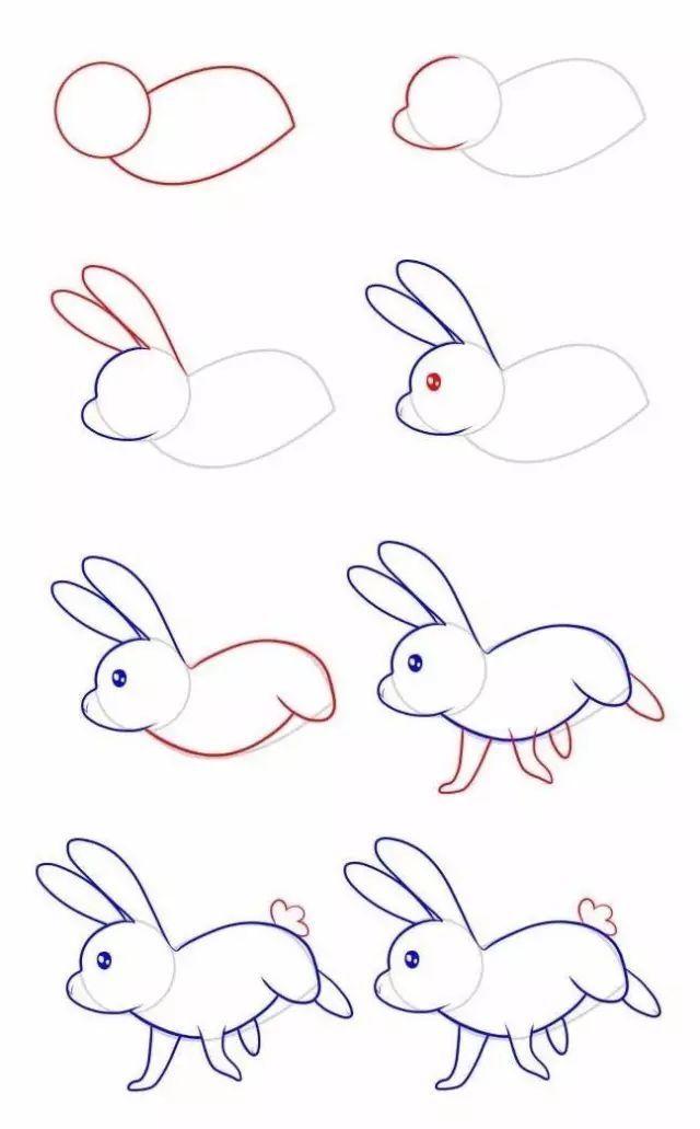 【简笔画】十二生肖简笔画