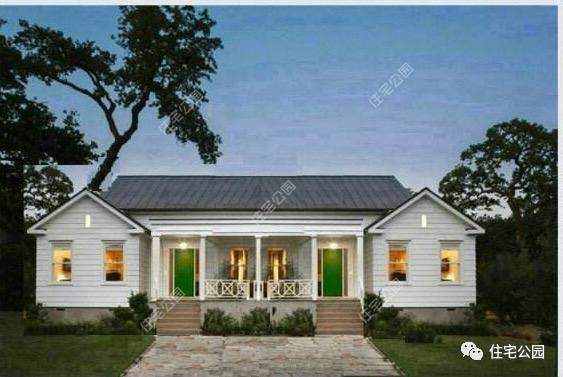 实拍5套农村自建平层别墅,1美3造价16万?谁说平房不能
