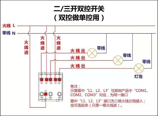 各种常见的家用开关,插座接线图,你还有那么比较牛叉的接线图吗