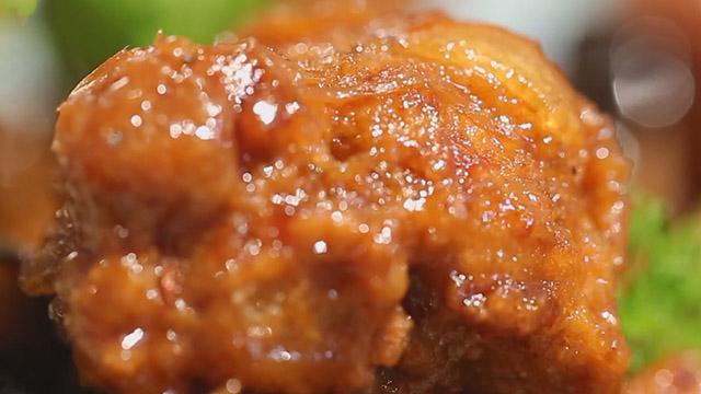 焦溜素丸子 外酥里嫩三种口味