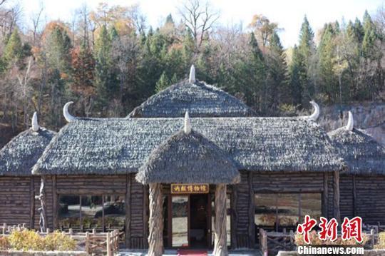 吉林复建长白山讷殷古城 重现400年前满族部落风貌