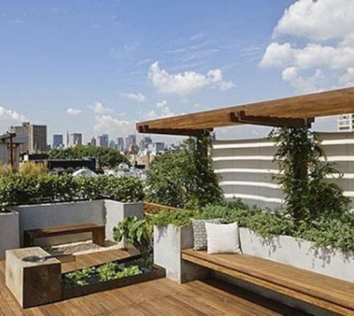 """买一个带露台的房子,建个""""小花园"""",待着去!-北京时间"""