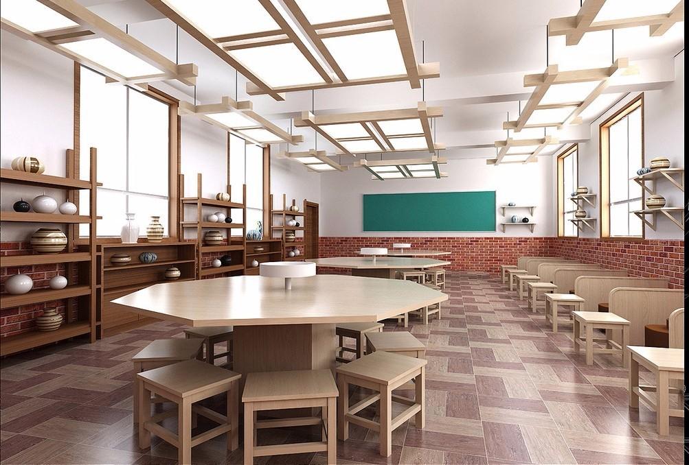 学校陶艺教室配置及幼儿园陶艺课程安排