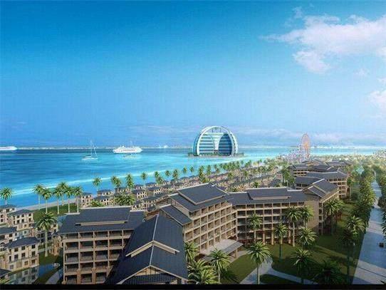 """南海美济岛""""吹沙填海""""已经有了雏形, 堪比夏威夷, 美国坐不住了"""