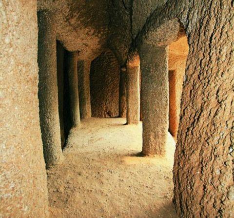 古代侧间房平面素材