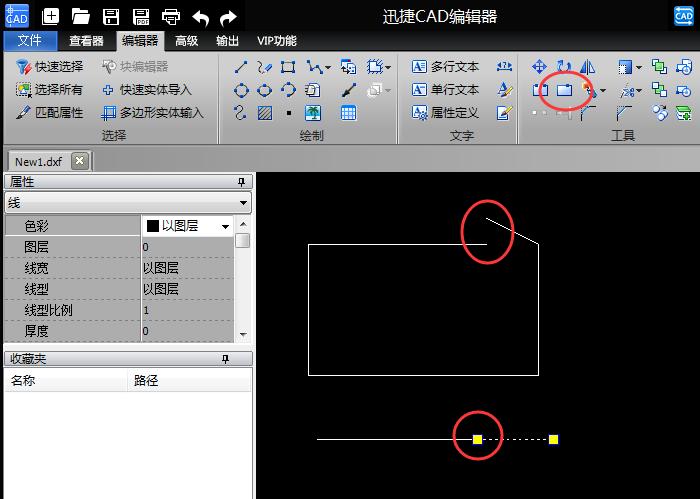 查看CAD线段?dwg多个显示器的使用方法cad文件设置打断窗口不打开怎么图片
