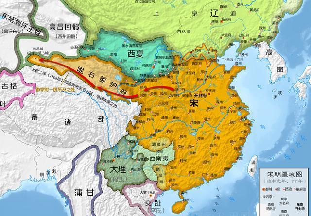 幽云十六州,也称燕云十六州,位置就是今天的北京还有河北山西的部分图片