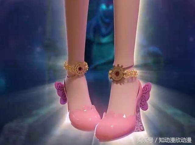 叶罗丽小测试:选一双高跟鞋,测试你未来喜欢的对象身高,我选b图片