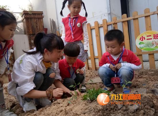 """湖滨幼儿园开展""""世界地球日""""主题教育活动"""
