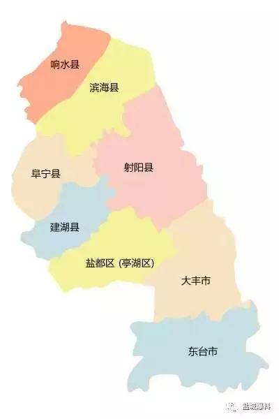 盐城市区地图全图