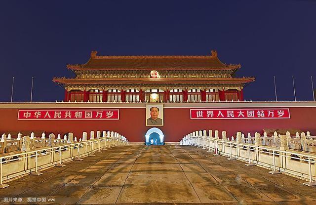 作为北京故宫城门,中国国家象征的天安门,到底是谁设计的呢?图片