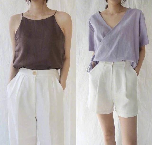 搭配参考:夏季平胸妹子的日常穿搭