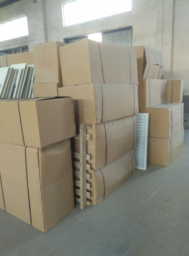 德州长江空调铝合金风口厂家的制作流程和风口产品