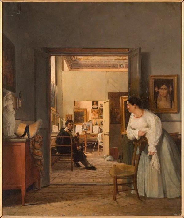 知道法国安格尔是谁吗?6月来浙江美术馆看他的展览吧图片