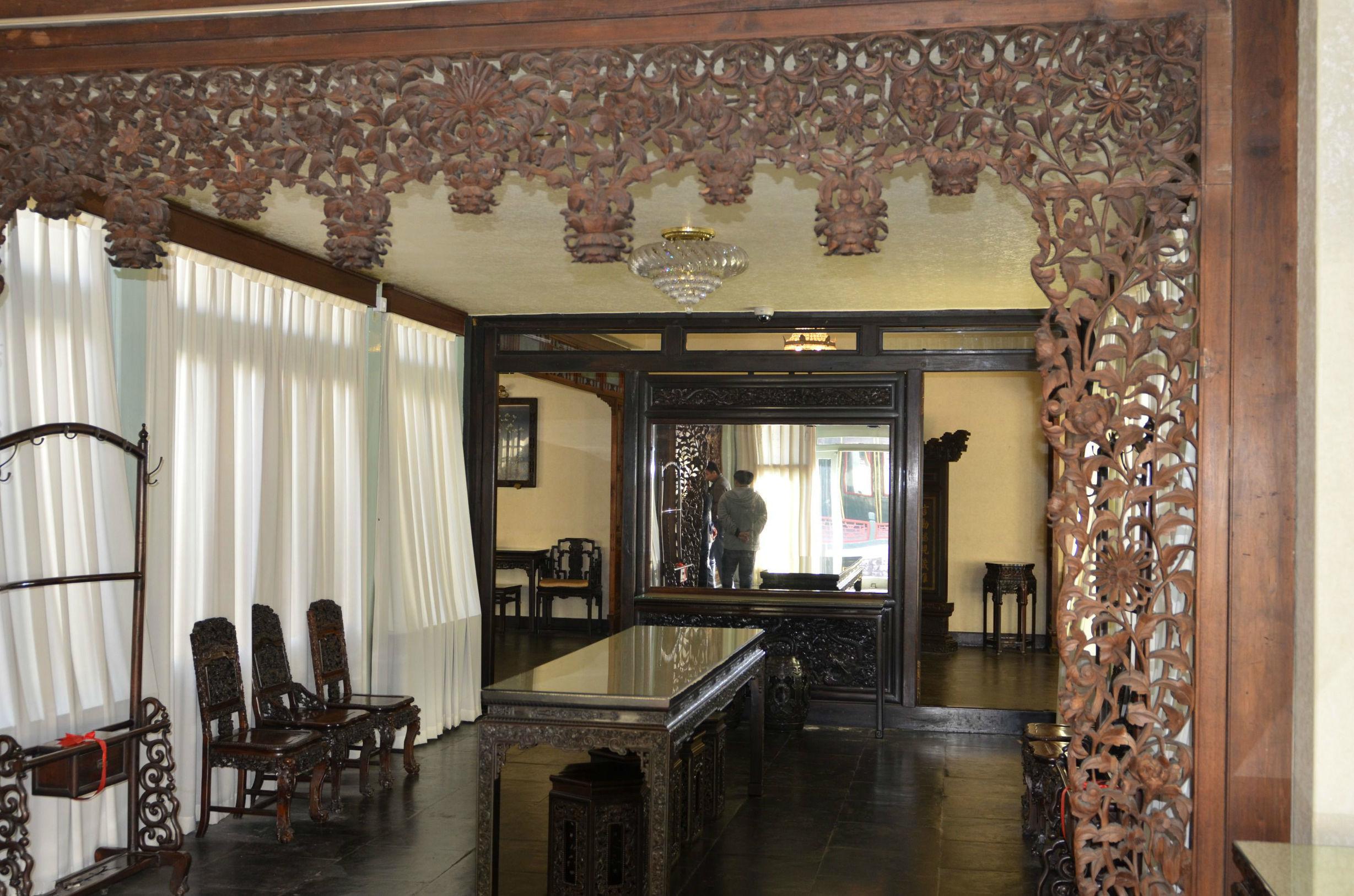 故宫室内装修装饰图片