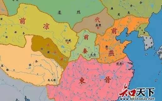 东鼓道手绘地图