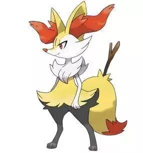 长尾火狐,火属性神奇宝贝,卡洛斯地区御三家之一火狐狸的第一阶段进化
