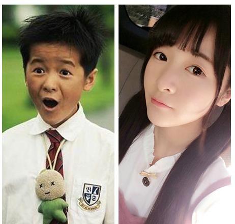 第四个是吴磊, 从小便是萌萌哒,长大了更是萌帅萌帅的,成为娱乐圈新