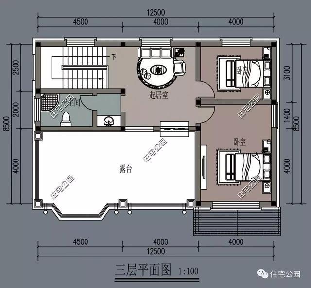 面宽8米造价13万起,2018农村自建房,这10套户型最适合