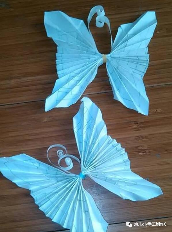 蝴蝶手工折纸大全图解