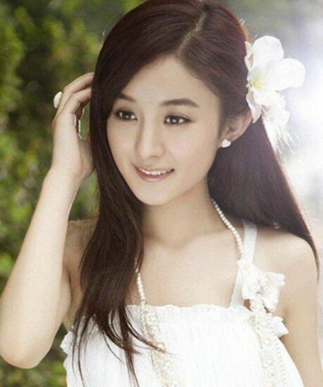 长头的三七分图片,杨幂的甜美赵丽颖的妩媚,而短头发怎么留发型发好看女星图片