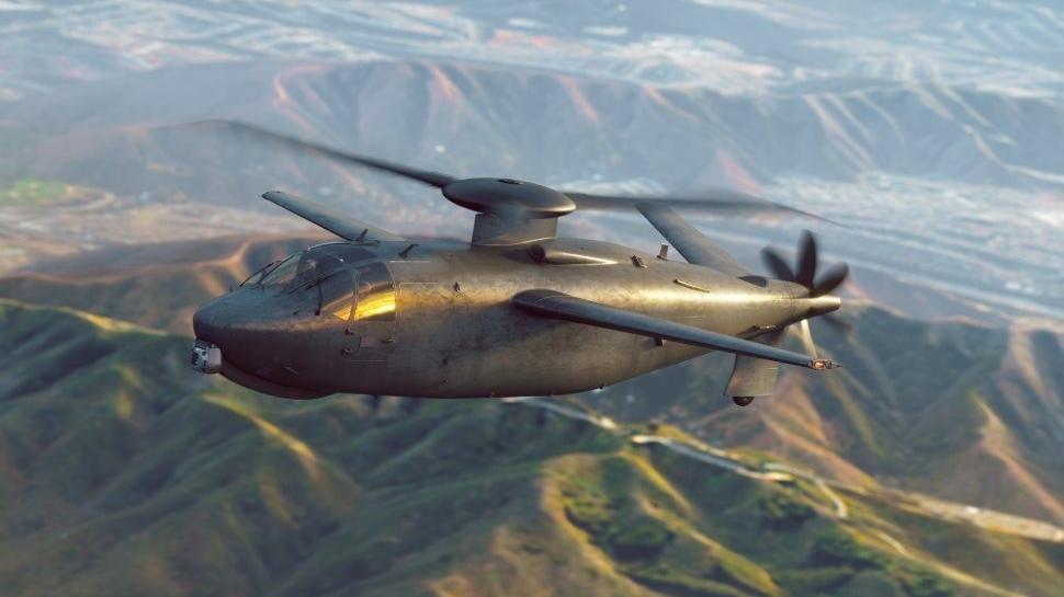 这就是未来直升机?美新型武直竞标方案曝光