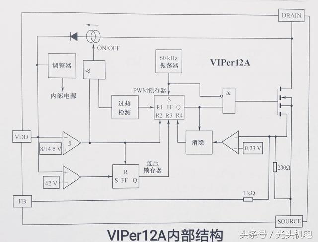 十:viper12a viper12a为电源ic模块,采用so-8和dip8封装,应用用在