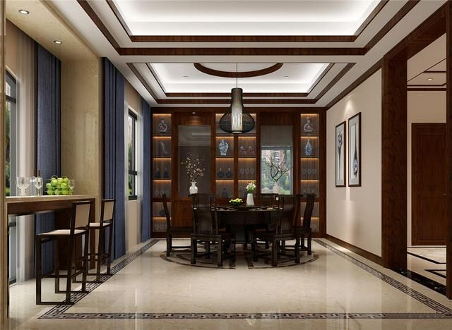 佛山新中式风别墅设计图片