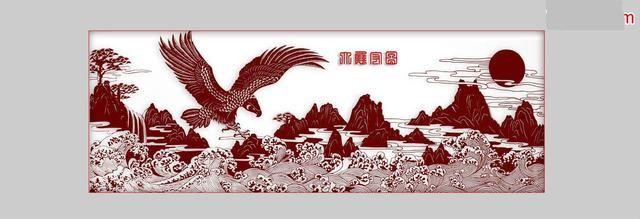 神奇的剪纸艺术,将山水风景剪出国画的写意和神韵