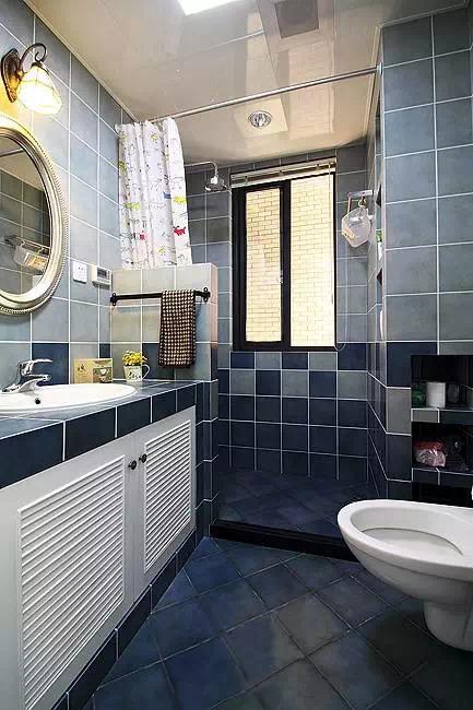 20个卫生间浴室柜装修效果图 为啥你家也是砖砌的就不